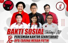 Kantor DPD Taruna Merah Putih Jabar Akan Diresmikan Minggu Ini - JPNN.com