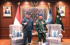 Danpuspom TNI Bertemu Komjen Petrus Golose di Gedung BNN, Ada Pembicaraan Serius - JPNN.com