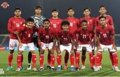 Babak Pertama Timnas Indonesia U-23 Vs Tajikistan 1-1, Hanis Cetak Gol Penyeimbang - JPNN.com