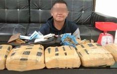 Bandar Narkoba Ini Sudah Diciduk Polisi, Tuh Barang Buktinya, Banyak Banget - JPNN.com