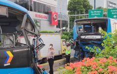 Apa Penyebab Kecelakaan Maut 2 Bus TransJakarta? Begini Jawaban AKBP Argo - JPNN.com