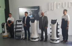 PUDU Buka Showroom Tampilkan Robot Canggih Pengantar Makanan - JPNN.com