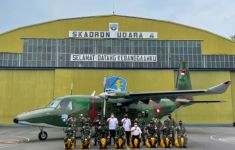 Skadron Udara 4 TNI AU Terima Pesawat NC212i-400 Troop Transport - JPNN.com