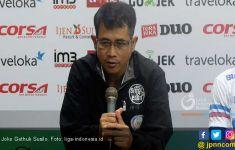 PS Tira Persikabo vs Persik Imbang 2-2, Joko Gethuk Kecewa - JPNN.com