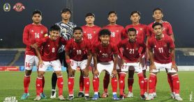 Indonesia vs Tajikistan 2-1, Shin Tae Yong Puji Semangat Pemain - JPNN.com