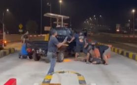 Penangkapan di Tol Kejapanan Pasuruan, Sindikat Curanmor Bawa Senjata Api - JPNN.com