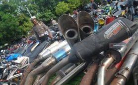 Merisaukan Warga, 37 Motor Berknalpot Brong di Madiun Diringkus Polisi - JPNN.com