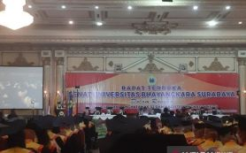 999 Lulusan Ubhara Surabaya Jalani Wisuda Luring, Begini Alasan Rektor - JPNN.com