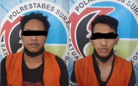 2 Pemuda Asal Gayungan Surabaya Kepergok Berbuat Terlarang di Depan Hotel - JPNN.com Jatim