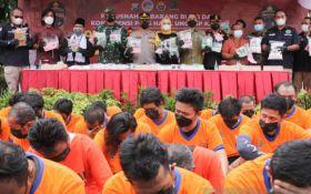 Polrestabes Surabaya Gulung Ratusan Tersangka Penyalahguna Narkoba - JPNN.com Jatim