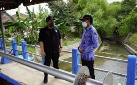 Jadi Penyebab Rawan Banjir, Pintu Air di Pare Kediri Segera Diperbaiki - JPNN.com Jatim