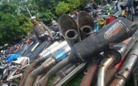 Merisaukan Warga, 37 Motor Berknalpot Brong di Madiun Diringkus Polisi - JPNN.com Jatim