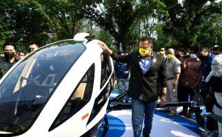 Bamsoet Kenalkan Taksi Terbang eHang 216, Baru 1 Unit di Indonesia - JPNN.com