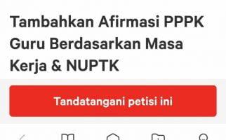 Lihat Dukungan Petisi Tambahkan Afirmasi PPPK, Sedikit Lagi 100.000 Tanda Tangan - JPNN.com