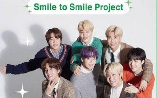 BTS Ajak Tersenyum Lewat Kampanye Smile to Smile - JPNN.com