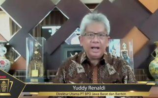 BJB Kembali Sabet Penghargaan Prestisius, Kali Ini dalam Indonesia Financial Top Leader Award 2021 - JPNN.com