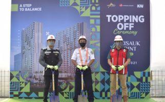 Sesuai Target, Cisauk Point Gelar Topping Off Tower Sapphire - JPNN.com