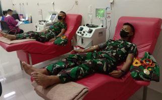 20 Taruna Akademi TNI AL Donorkan Plasma Konvalesen - JPNN.com