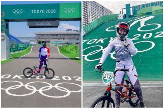 Ternyata, Sepeda BMX Atlet di Olimpiade Tokyo 2020 itu, Hasil Kerja Keras Alumni ITS Ini - JPNN.com Jatim
