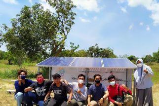 Mahasiswa Unair Bantu Pengairan Desa di Bangkalan dengan Panel Surya - JPNN.com Jatim