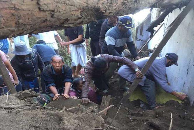 Gempa Karangasem Makan Korban, Dua Tewas di Bangli, Rumah Rusak dan Korban Luka